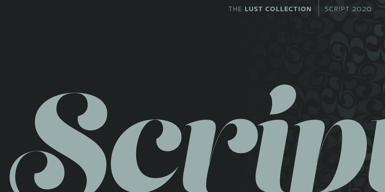 Lust Script Cover