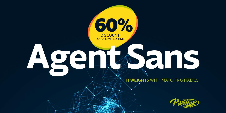 Agent Sans 2x1 01 sale
